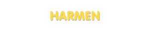 Der Vorname Harmen