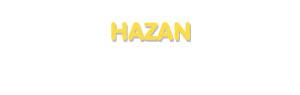 Der Vorname Hazan