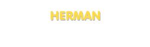 Der Vorname Herman