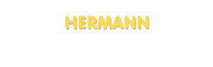 Der Vorname Hermann