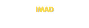 Der Vorname Imad