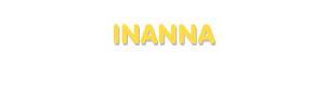 Der Vorname Inanna
