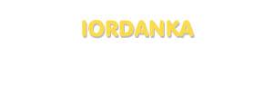 Der Vorname Iordanka