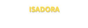 Der Vorname Isadora
