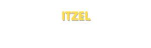 Der Vorname Itzel