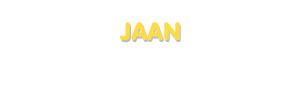Der Vorname Jaan