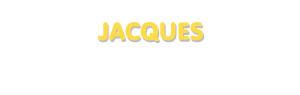 Der Vorname Jacques