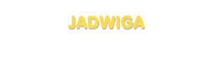 Der Vorname Jadwiga