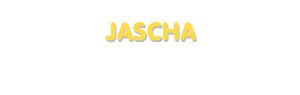 Der Vorname Jascha