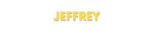Der Vorname Jeffrey