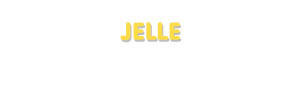 Der Vorname Jelle