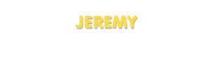 Der Vorname Jeremy