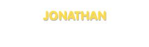 Der Vorname Jonathan