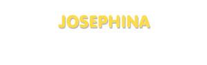 Der Vorname Josephina