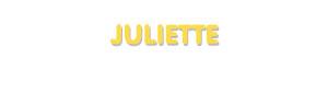Der Vorname Juliette