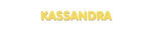 Der Vorname Kassandra