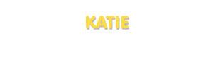 Der Vorname Katie