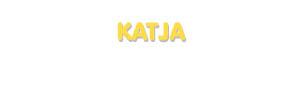 Der Vorname Katja