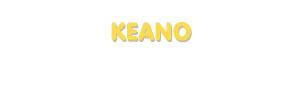 Der Vorname Keano