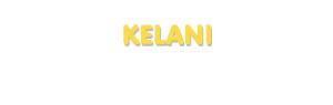 Der Vorname Kelani