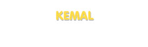 Der Vorname Kemal