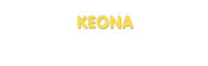 Der Vorname Keona