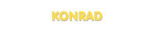 Der Vorname Konrad