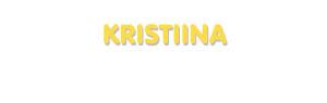 Der Vorname Kristiina