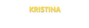 Der Vorname Kristina