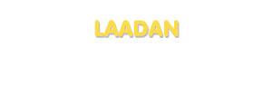 Der Vorname Laadan