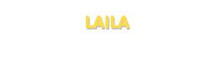Der Vorname Laila