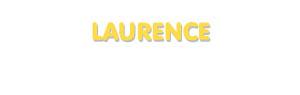 Der Vorname Laurence