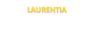 Der Vorname Laurentia