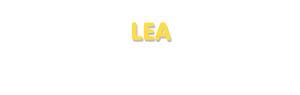 Der Vorname Lea