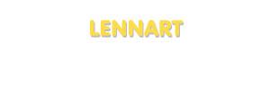 Der Vorname Lennart