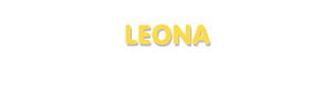 Der Vorname Leona