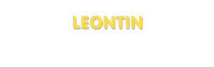 Der Vorname Leontin