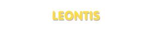 Der Vorname Leontis