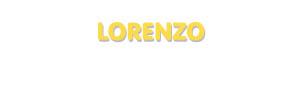 Der Vorname Lorenzo
