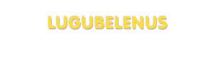 Der Vorname Lugubelenus