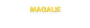 Der Vorname Magalie