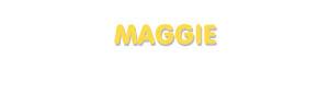 Der Vorname Maggie