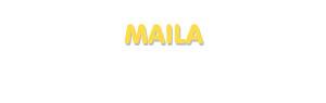Der Vorname Maila