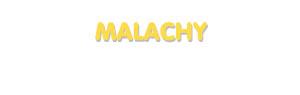 Der Vorname Malachy