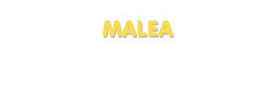 Der Vorname Malea