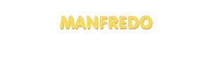 Der Vorname Manfredo