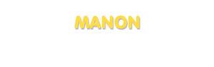 Der Vorname Manon