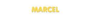 Der Vorname Marcel