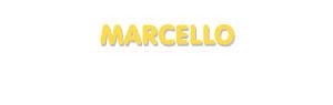 Der Vorname Marcello