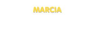 Der Vorname Marcia
